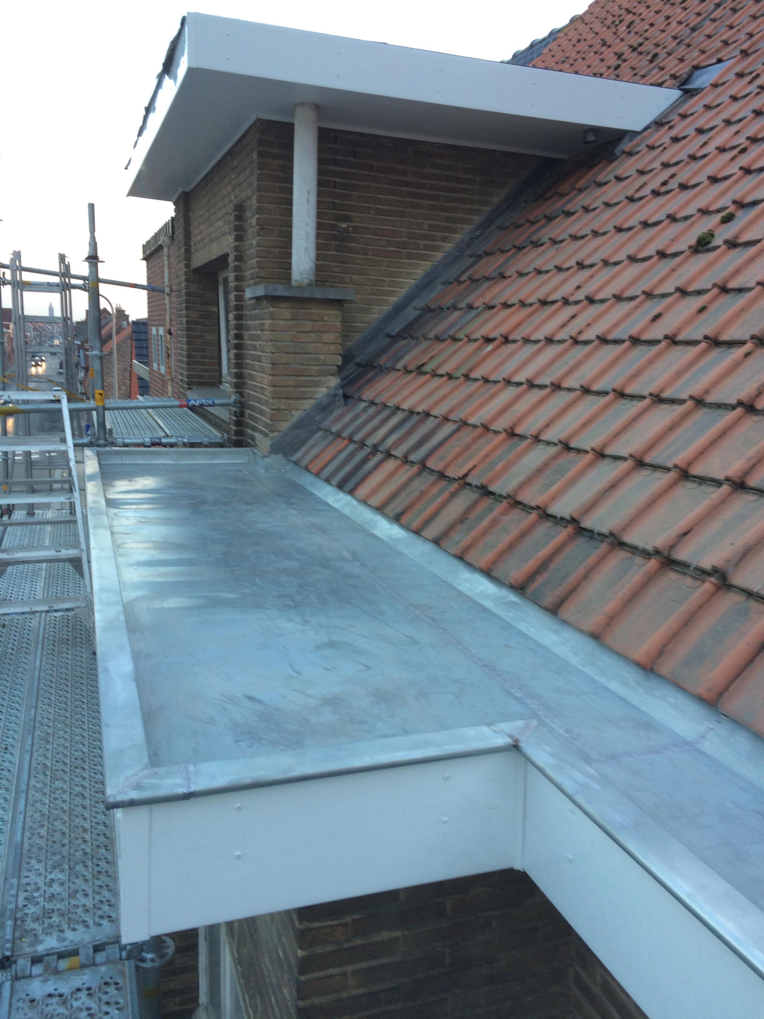 Zinkwerken en Koperwerken van ND dakwerken - Nico Desmet - algemene dakwerken