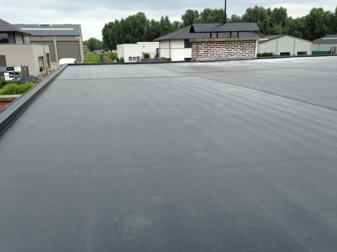Dakwerken - EPDM - platte daken - ND Dakwerken - Nico Desmet - bouwen, verbouwen, renovatie daken