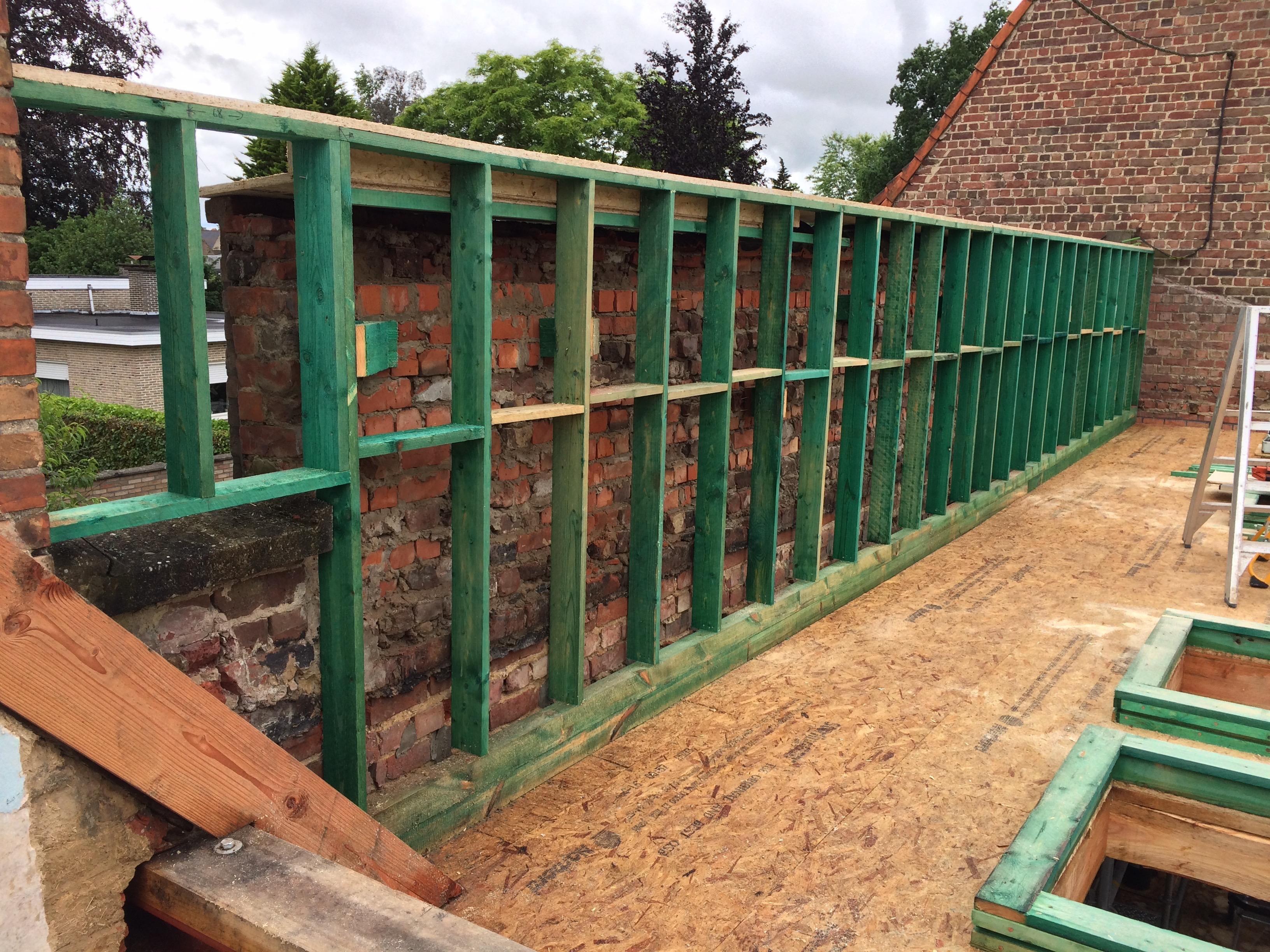 Timmerwerken - ND Dakwerken - Nico Desmet - bouwen en renoveren