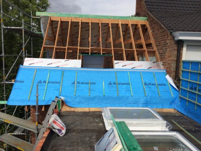 Dakwerken - Sarkin daken - Nico Desmet - bouwen, verbouwen, renovatiewerken