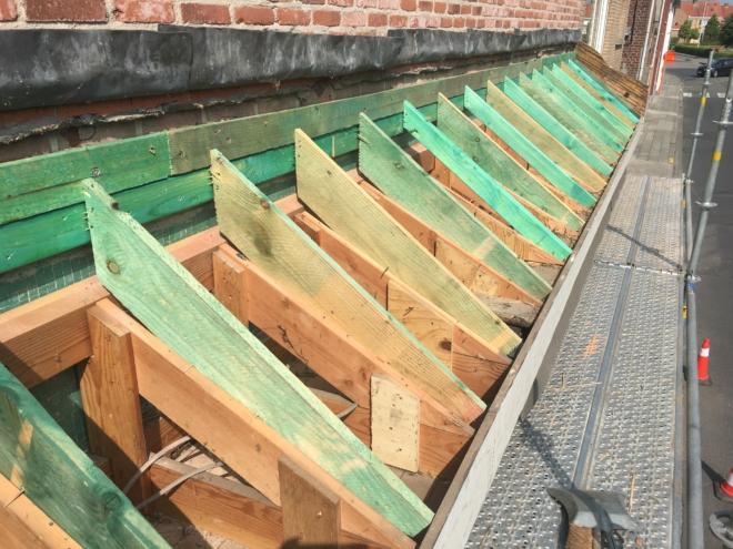 timmerwerken, dakwerken
